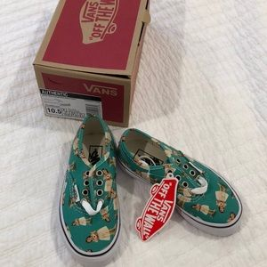 NEW w/tags and box hula 10.5 toddler vans
